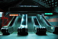 Stockholm metro. View of Swedish metro, Stockholm royalty free stock image
