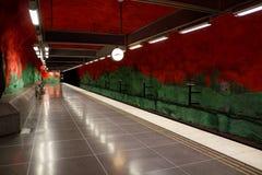 Stockholm metro Royalty Free Stock Images