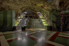 Stockholm Metro Art Collection after recent renovation.  Image ID:360014891 Royalty Free Stock Photo