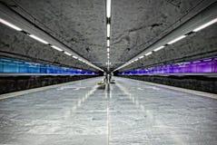 Stockholm Metro (Subway) Stock Photos