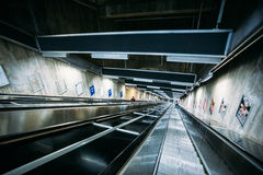 Stockholm Metro Train Station, Sweden Royalty Free Stock Photography