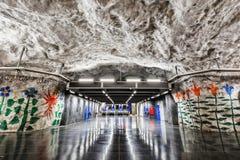 Stockholm-Metro (U-Bahn) Stockbilder