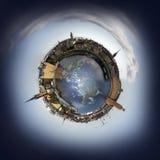 Stockholm miniplanet Arkivbild