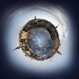 Stockholm miniplanet Stock Photography