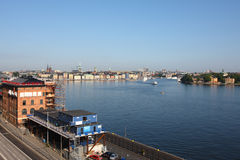 Stockholm in morning Royalty Free Stock Photography