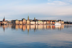 Stockholm at the morning Royalty Free Stock Photos