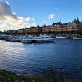 Stockholm Morr royaltyfri bild