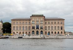 Stockholm National Museum Royalty Free Stock Photography