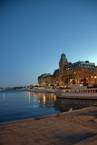 Stockholm at night Royalty Free Stock Photos