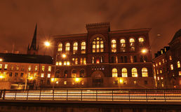Stockholm by night Royalty Free Stock Photography