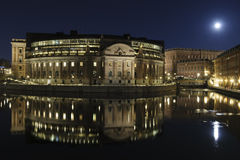 Stockholm night Royalty Free Stock Photography