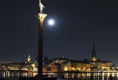 Stockholm night Stock Images