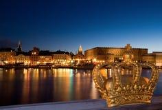 Stockholm night image. Stock Image