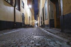 Stockholm night Stock Image