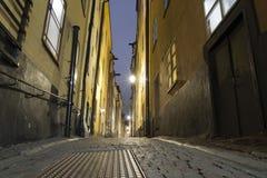 Stockholm night Royalty Free Stock Photo