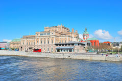 Stockholm. Norrstromm  embankment Royalty Free Stock Photos