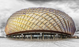 STOCKHOLM - OCT, 30: Tele2 Arena, is a multi-purpose indoor stad Royalty Free Stock Photo