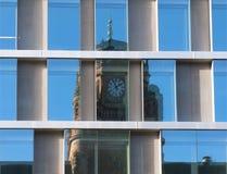 stockholm okno Sweden Obrazy Royalty Free