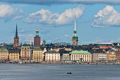 Stockholm of the old city. Sweden. Stock Image