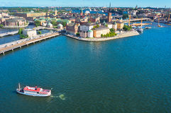 Stockholm old city, Sweden Stock Photography