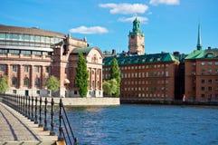 Stockholm old city, Sweden Royalty Free Stock Images