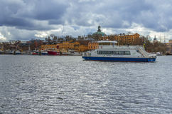 Stockholm old city Royalty Free Stock Images