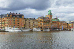 Stockholm old city Royalty Free Stock Photography