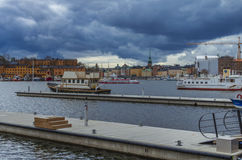 Stockholm old city royalty free stock photo
