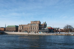 Stockholm, the Old Town Royalty Free Stock Photos