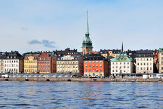 Stockholm. Old Town Stock Photos