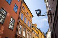 Stockholm old town Stock Photos