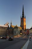 Stockholm Old Town Church Royalty Free Stock Images