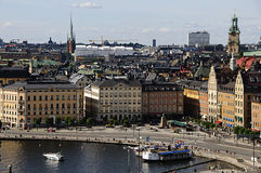 Stockholm old town (Gamla stan), Sweden Royalty Free Stock Images
