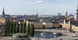 Stockholm old town (Gamla stan), Sweden Stock Photography