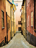 Stockholm Old Town Royalty Free Stock Photography