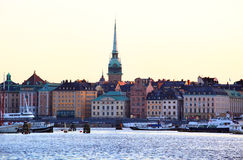 Stockholm old town Stock Image