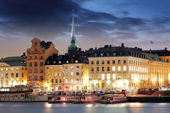 Stockholm Old Town, Sweden Royalty Free Stock Images