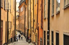 Stockholm. Old town in Stockholm, Sweden Royalty Free Stock Images