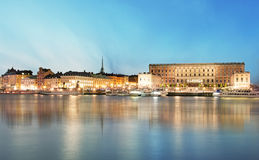 Stockholm Old Town, Sweiden Royalty Free Stock Images