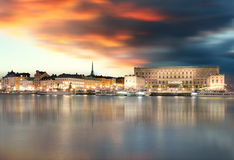 Stockholm Old Town, Sweiden Royalty Free Stock Photography