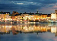 Stockholm Old Town, Sweiden Royalty Free Stock Image