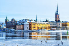 Stockholm Old Town Royalty Free Stock Images