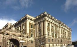 Stockholm pałac królewski Szwecja Zdjęcie Stock