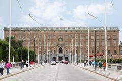 Stockholm Palace - Stockholms slott Royalty Free Stock Photography