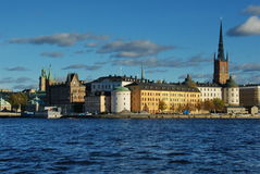 Stockholm panorama Royalty Free Stock Photography
