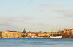 Stockholm panorama Royalty Free Stock Images