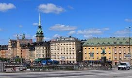 Stockholm panorama Royaltyfria Bilder