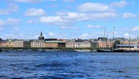 Stockholm panorama Royaltyfri Bild