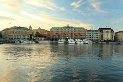 Stockholm panorama Stock Image