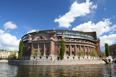 Stockholm parliament Stock Photo